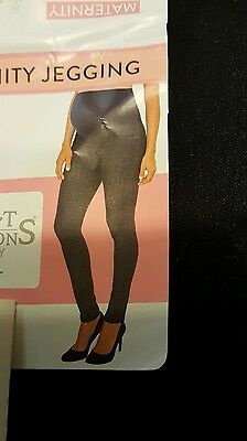 NWT maternity pants jegging black 20 XXL