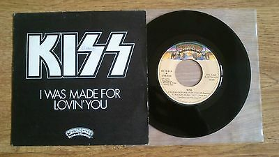 "Kiss – I Was Made For Lovin' You  7"" Spanish Vinyl"