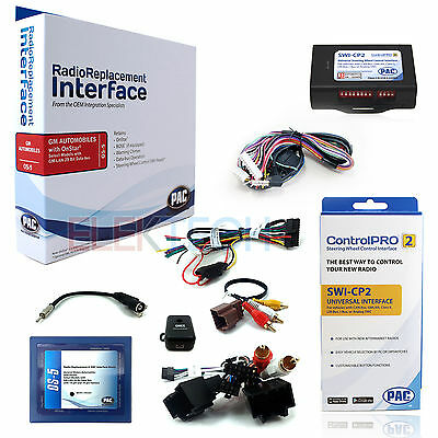 Radio Replacement Interface for Buick Cadillac Chevorlet//GMC with Bose ROEM-GM21