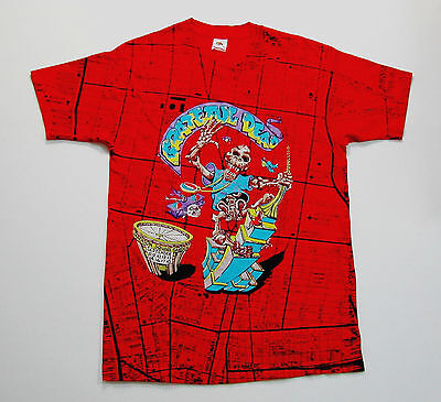 Grateful Dead Shirt T Shirt Vintage 1991 King Kong New York City Map MSG L New !
