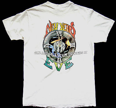 Grateful Dead Shirt T Shirt Vintage 1992 New Years Eve 1991 Bill Graham ! GDM L