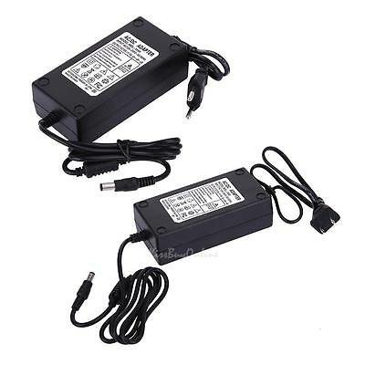 15V 5A AC to DC Power Supply Adapter Dual Cable Converter Universal 5.5*2.1mm