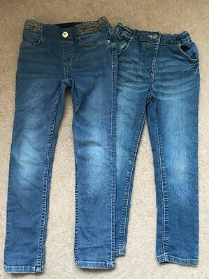 Girls Skinny Jeans Age 4-5 And 5-6 Years H&M and George