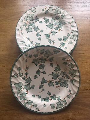 Set of 6 BHS Country Vine Dinner Plates