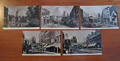 Collection of 5 Postcards of Hackney (Mare Street)
