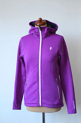 Peak Performance Sweden Easy Polartec Power Stretch Purple Outdoor Jacket M