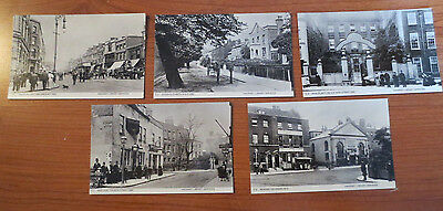 Collection of 5 Postcards of Hackney