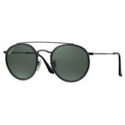 Ray-Ban Unisex RB3647N 002/58 Polarized Green Classic G-15 51 mm Sunglasses