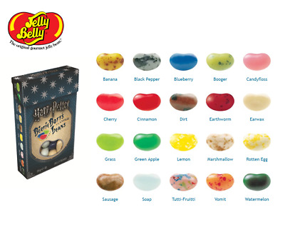 Harry Potter Bertie Botts Every Flavour Beans 1.2oz 35gr. Jelly Belly