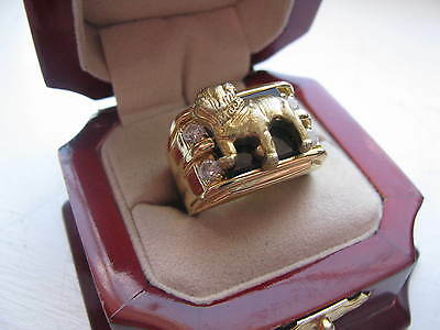 """NEW Mens """"Mack Truck"""" CREST Ring Available in Stainless Steel"""