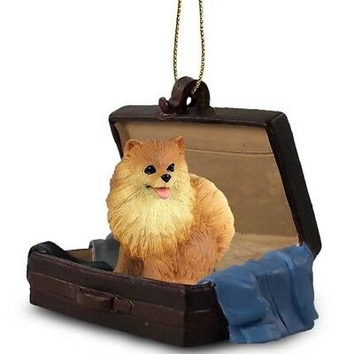 Victorian Trading Co Travel Companion Pomeranian Dog Christmas Ornaments
