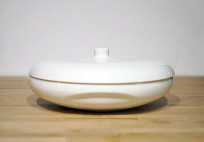 Vintage Russel Wright Divided Casserole Serving Bowl with Lid Iroquois Casual Ch