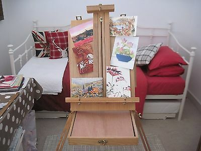Artists Portable Easel With Case