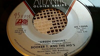 Booker t and the mgs green onions 7 inch vinyl record