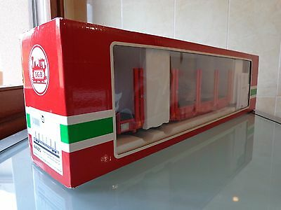 **NEW** LGB 44920 DB Schenker Four-Axle Double Stake Freight Car G scale boxed