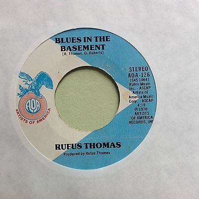 Rufus Thomas blues in the basement - Soul/Rare soul 7""