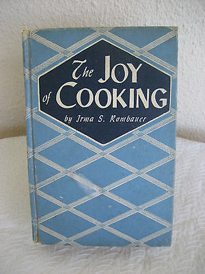 Vintage Joy of Cooking 1946 Cookbook With Preface to the 1943 Hardcover Edition