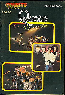 Queen Special Issue Conecte Magazine Rare Mexican 1981 Mercury May Taylor Deacon