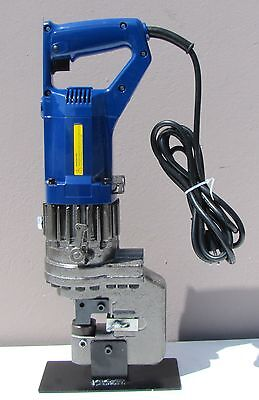 New Electric Hydraulic Hole Punch Puncher MHP-20 with Die Set