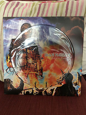 """Iron Maiden Wicker Man 12"""" Picture Disc Single - Near Mint Condition"""