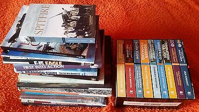 24 War Military History Aircraft Warships Fighters books joblot WWII