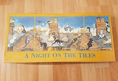 A Night on The Tiles by Linda Jane Smith.1x1000, 2x500 Piece Jigsaw Puzzles