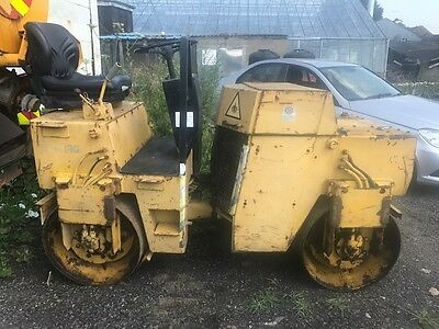 Bomag BW100 AD Roller, Double Drum Ride On