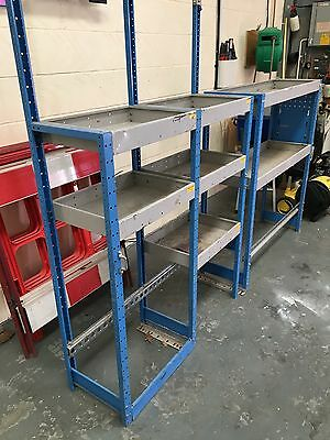 Vauxhall Movano Van Racking System Also Fits Most Other Vans Transit Master Etc