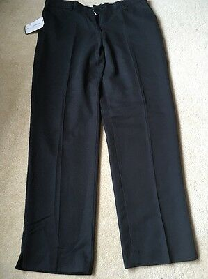 GLENMUIR LADIES LINTLAW GOLF TROUSERS BLACK  NEW WITH TAGS SIZE 14 Regular