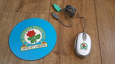 Blackburn Rovers mouse and mouse-mat NEW