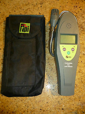 TPI 721 Combustible Gas Leak Detector, 10 ppm Sensitivity