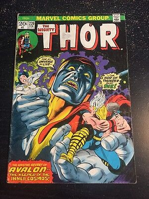 Mighty Thor#220 Awesome Condition 5.5(1974) Buscema Art, Wow!!