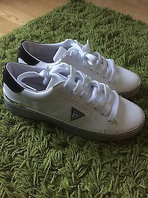Guess Ladies Trainers Shoes Size 37 (uk4)