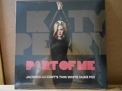 Katy Perry - Part Of Me (Jacques Lu Cont's Remix) [2012] Mint Pink 12'' Vinyl