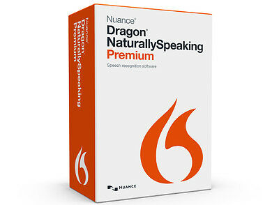 Nuance Dragon Naturally Speaking Premium Edition 13 Official Genuine Download