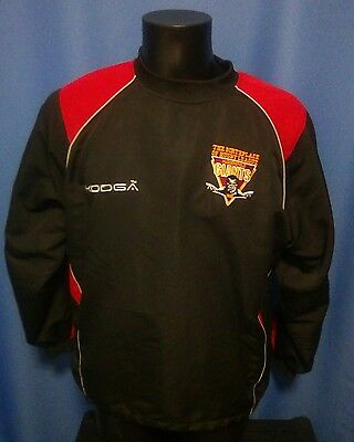 Huddersfield Giants Rugby League Track Top Sweat Shirt size S Small