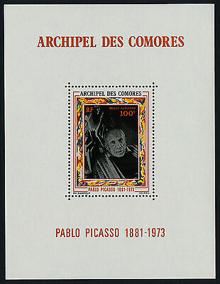 Comoro Islands C58 MNH Art, Pablo Picasso