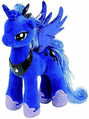 """Ty Beanie My Little Pony Princess Luna Collectible 7"""" Soft Toy (RRP 8.99)"""