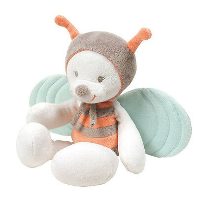 NEW NATTOU Bubbles Soft Plush Baby Child Toy Cuddly - Bee 28cm