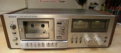 Very clean Sony TC-K96R Auto Reverse Tape Deck FOR PARTS OR REPAIR