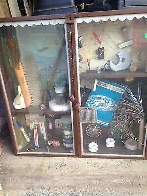 Vintage Telephone History Collectible Display Case