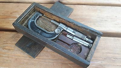 micrometer - ambrose and shardlow - sheffield - 1 - 2 inch