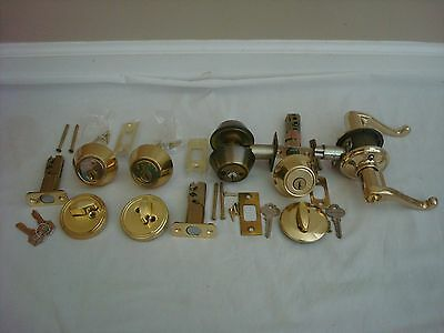 Deadbolt Door Knob Lock Level Keyed Schlage Kwikset Guardsman