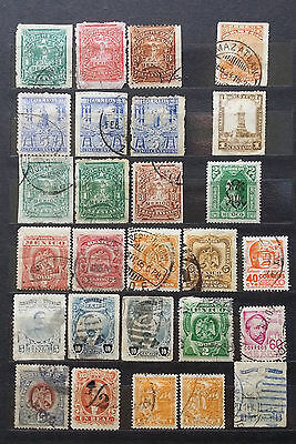Lot Of Mexico Old Stamps Classic