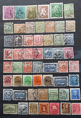 LOT OF HUNGARY UNGARN OLD STAMPS - USED/UNUSED (2 pages)