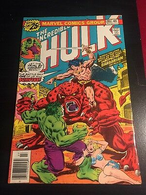 Incredible Hulk#201 Awesome Condition 8.0(1976) Buscema Art!!
