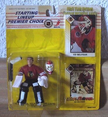 1993 Kenner Starting Lineup First Year Edition Ed Belfour (Rare)