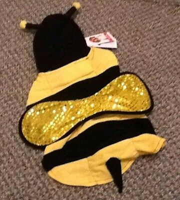 Brand New Bumble Bee Pet Dog Costume New Size Large