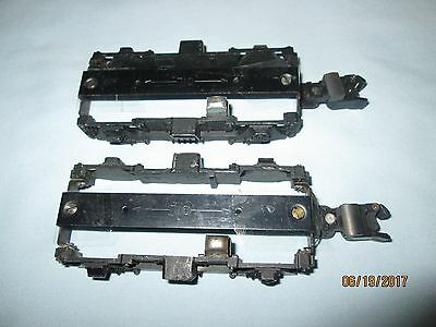 Pair(2) of Side Frames w/Pick Up & Knuckle Couplers for Texas & Pacific 374/375