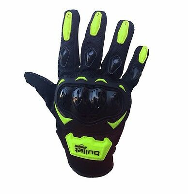 Summer Motorcycle Armour Knuckle Bike Gloves Motorbike Motocross Cycling Biker
